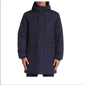 Wesc faux shearling lined hooded winter parka